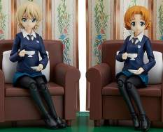 Darjeeling & Orange Pekoe (Girls und Panzer das Finale) Figma 406 Actionfiguren-Set 2Stk. 12-15cm Max Factory