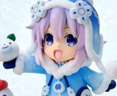Dekachiccha! Snow Nep Fuwafuwa Version (Hyperdimension Neptunia) PVC-Statue 18cm Vertex