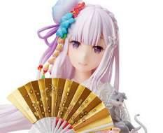 Emilia Shiromuku (Re:ZERO Starting Life in Another World) PVC-Statue 1/7 25cm FuRyu