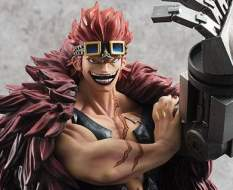Eustass Captain Kid Limited Edition (One Piece) Excellent Model P.O.P. PVC-Statue 1/8 25cm Megahouse