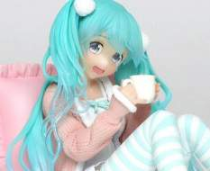 Hatsune Miku Casual Wear Version (Vocaloid) PVC-Statue 12cm Taito Prize