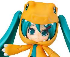 Hatsune Miku Kigurumi Agumon Version (Character Vocal Series 01) Nendoroid 1439 Actionfigur 10cm Good Smile Company