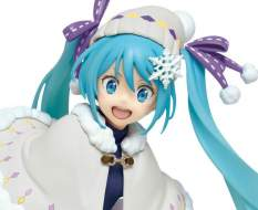 Hatsune Miku Winter Version Renewal (Vocaloid) PVC-Statue 18cm Taito Prize