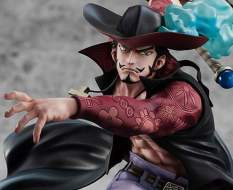 Hawk-Eye Dracule Mihawk Neo Maximum (One Piece) Excellent Model P.O.P. PVC-Statue 34cm Megahouse
