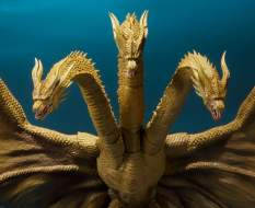 King Ghidorah (Godzilla: King of Monsters 2019) S.H. MonsterArts-Actionfigur 25cm Bandai Tamashii Nations