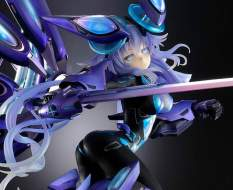 Next Purple Processor Unit Full Version (Megadimension Neptunia VII) PVC-Statue 1/7 38cm Vertex -NEUAUFLAGE-