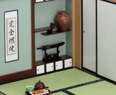 Playset 01: Japanese Life Set B Guestroom - Nendoroid More-Zubehör-Set von Phat Company