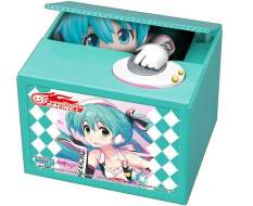 Racing Miku 2019 Version Chatting Bank 001 (Hatsune Miku GT Project) Spardose mit Sound 12cm Shine