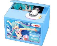 Racing Miku 2019 Version Chatting Bank 002 (Hatsune Miku GT Project) Spardose mit Sound 12cm Shine