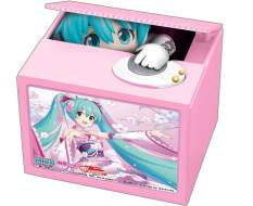 Racing Miku 2019 Version Chatting Bank 003 (Hatsune Miku GT Project) Spardose mit Sound 12cm Shine