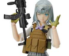 Rikka Shiina Summer Uniform Version (Little Armory) Figma SP-116 Actionfigur 13cm TOMYTEC