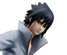 Sasuke Uchiha (Naruto Shippuden) G.E.M. PVC-Statue 1/8 24cm Megahouse -RÜCKLÄUFER-