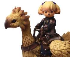 Shantotto & Chocobo (Final Fantasy 11) Bring Arts Actionfigur 8-18cm Square Enix