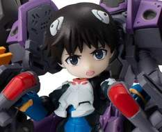 Shinji Ikari & Evangelion No. 1 (Evangelion) Desktop Army Actionfigur 15cm Megahouse