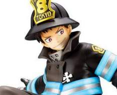 Shinra Kusakabe Glows in the Dark (Fire Force) ARTFXJ PVC-Statue 1/8 21cm Kotobukiya