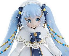 Snow Miku Glowing Snow Version (Character Vocal Series 01 Hatsune Miku) Figma EX-060 Actionfigur 14cm Max Factory