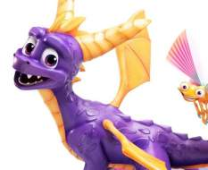 Spyro (Spyro Reignited Trilogy) Restin-Statue 45cm First4Figures