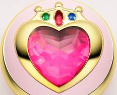 Verwandlungsbrosche Sailor Chibi Moon (Sailor Moon) Proplica Replik 7cm Bandai Tamashii Nations