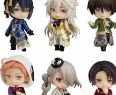Atsukashiyama Ibun 6er-Pack (Touken Ranbu The Musical) Nendoroid Petite Figuren-Set 7cm Good Smile Company