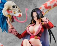 Boa Hancock mit Salome (One Piece) Excellent Model P.O.P. Neo Maximus PVC-Statue 23cm Megahouse