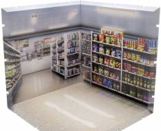 Convenience Store Dioramansion 150 Zubehör-Set für Nendoroid und Figma Actionfiguren von PLM