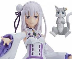 Emilia (Re:ZERO Starting Life in Another World) Figma 419 Actionfigur 14cm Max Factory