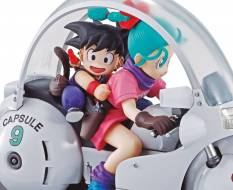 Goku & Bulma (Dragonball Z) 06 Desktop Real McCoy PVC Diorama 14cm Megahouse