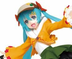 Hatsune Miku Autumn Version Renewal (Vocaloid) PVC-Statue 18cm Taito Prize