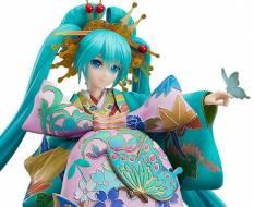 Hatsune Miku Chokabuki Kuruwa Kotoba Awase Kagami Version (Character Vocal Series) PVC-Statue 1/7 30cm Good Smile Company