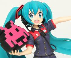 Hatsune Miku Taito Uniform Version 2 Game Prize (Vocaloid) PVC-Statue 18cm Taito Prize