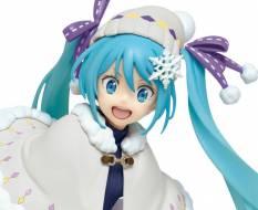 Hatsune Miku Winter Version Renewal (Vocaloid) PVC-Statue 18cm Taito Prize