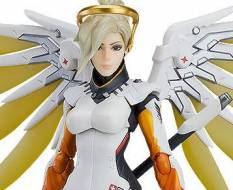 Mercy (Overwatch) Figma 472 Actionfigur 16cm Good Smile Company