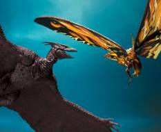 Mothra & Rodan (Godzilla: King of Monsters 2019) S.H. MonsterArts-Actionfiguren Doppelpack 26 & 35cm Bandai Tamashii Nations