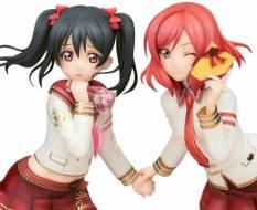 Nico Yazawa & Maki Nishikino Valentine Version (Love Live! School Idol Festival) PVC-Statue 1/7 21cm Alter -NEULIEFERUNG-