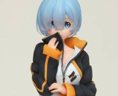 Rem Subaru's Training Suit Version (Re:ZERO Starting Life in Another World) PVC-Statue 23cm Taito Prize