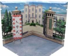 School Front Gate Dioramansion 150 Zubehör-Set für Nendoroid und Figma Actionfiguren von PLM