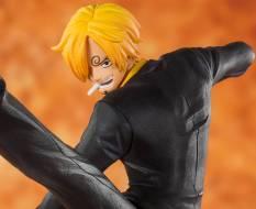 Schwarzfuß Sanji (One Piece) FiguartsZERO PVC-Statue 13cm Bandai Tamashii Nations