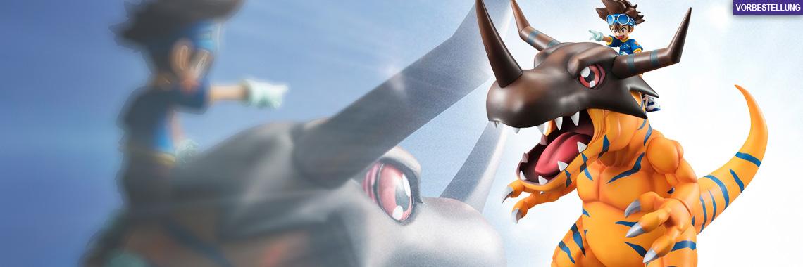 Greymon & Tai (Digimon Adventure) G.E.M. PVC-Statue 25cm