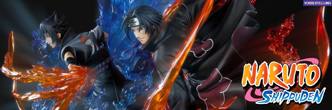 Itachi Uchiha & Sasuke Uchiha Susanoo Kizuna Relation (Naruto) FiguartsZERO PVC-Statuen-Set 2Stk 22+24cm Bandai Tamashii Nations