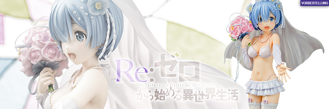 Rem Wedding Version (Re:ZERO Starting Life in Another World) PVC-Statue 1/7 22cm Phat