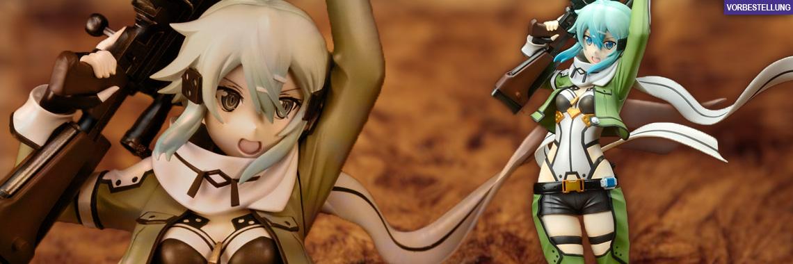 Sinon (Sword Art Online 2) PVC-Statue 1/7 23cm (33cm) Kaitendoh -NEUAUFLAGE-